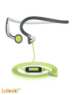 Sennheiser PMX 686G Headphones - with Mic - for Galaxy - Green