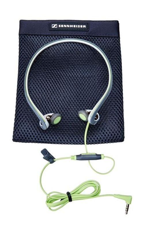 Sennheiser PMX 686G Headphones with Mic for Galaxy Green