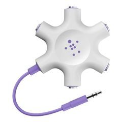 Belkin Multi Headphone Audio Jack Splitter - Purple color(F8Z274btPUR)