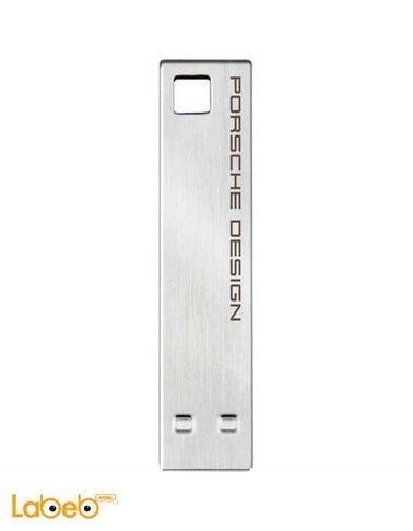 ذاكرة فلاش USB لاسي 16 جيجابايت تصميم بورش فضي 9000500
