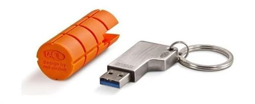 LaCie RuggedKey USB 3.0 Flash Drive 64GB 9000399