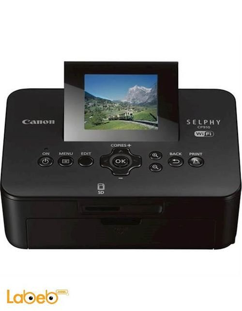 Canon Selphy Compact Photo Printer 2.7inch CP910