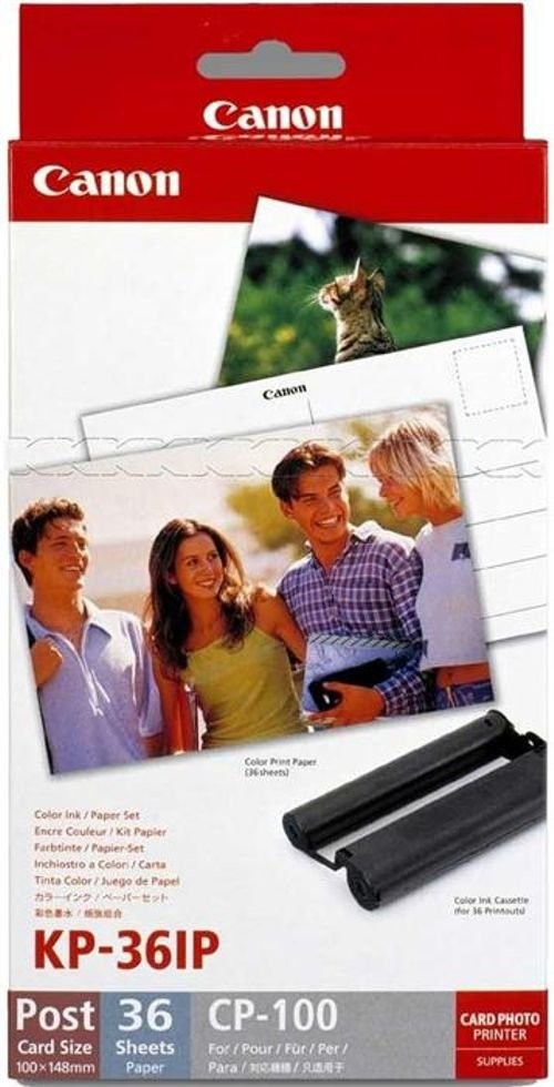 Canon Selphy Compact Photo Printer and ink 2.7inch CP910 model