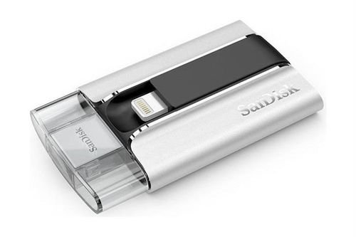 SanDisk iXpand 16GB USB Flash Drive White color SDIX-016G-G57