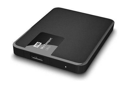 Black Western Digital My Passport Ultra Portable 3TB