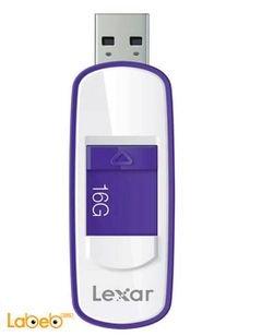 ذاكرة فلاش USB 3.0 LEXAR - ذاكرة 16 جيجابايت - لون بنفسجي - LJDS75
