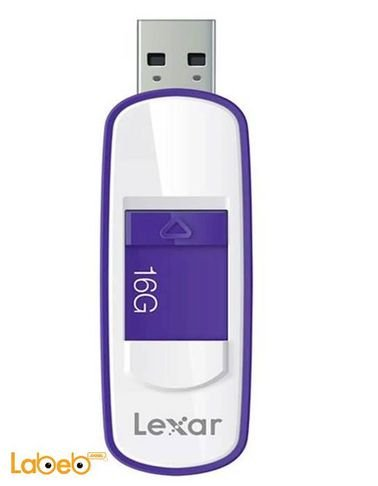 ذاكرة فلاش USB 3.0 LEXAR ذاكرة 16 جيجابايت لون بنفسجي LJDS7