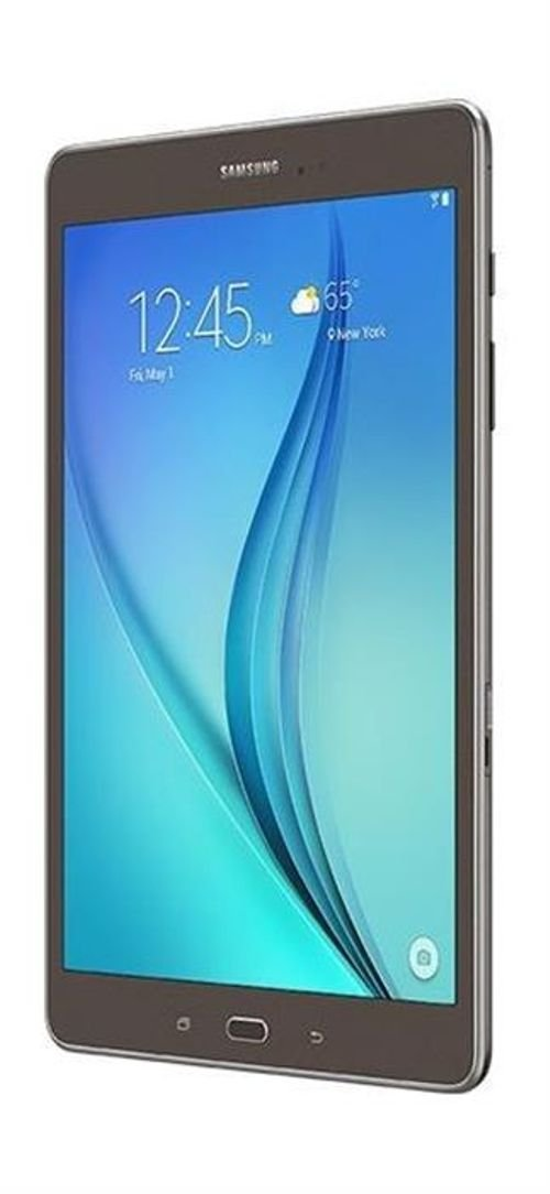 Grey Samsung Galaxy Tab A screen