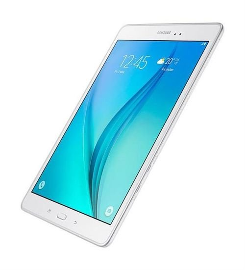 Samsung Galaxy Tab A side White color
