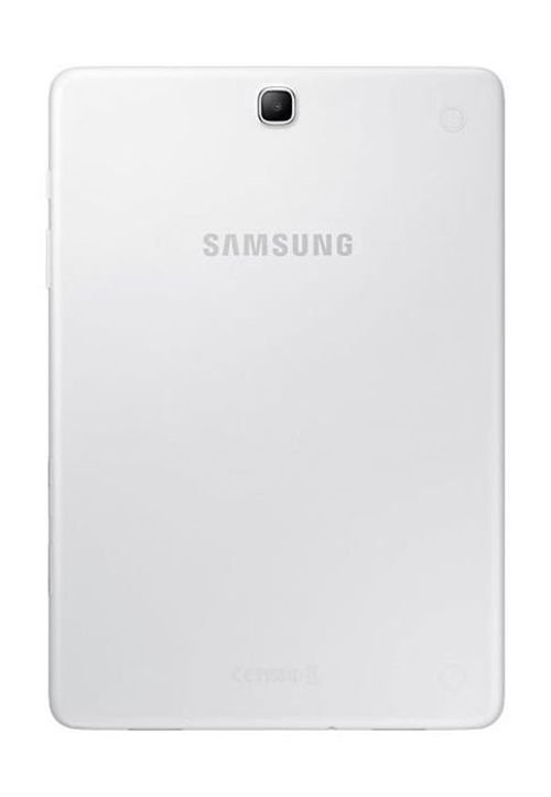 Samsung Galaxy Tab A back White color