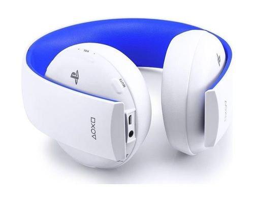 سماعة رأس سوني لاسلكية جهاز بلاي ستيشن 4 أبيض CECHYA-0083