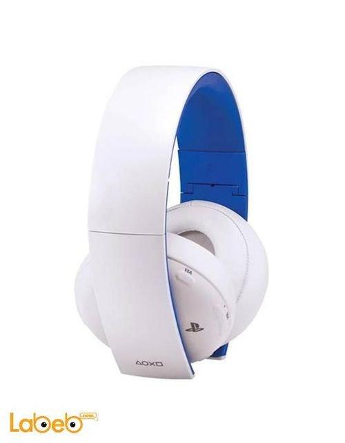 سماعة رأس سوني لاسلكية جهاز بلاي ستي4 أبيض CECHYA-0083