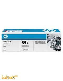HP 85A LaserJet Toner Cartridge - Black color - model CE285A