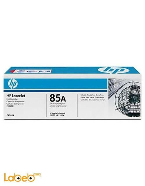 HP 85A LaserJet Toner Cartridge Black color model CE285A