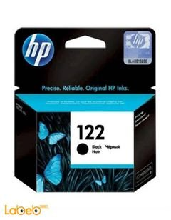 HP Inks and Toners 122 - Black color - model CH561H