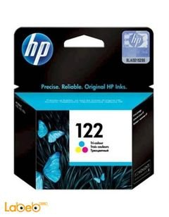 HP 122 Ink Cartridge - Tri-Colour - model CH562HE