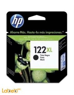 HP 122XL Inks and Toners Cartridge - Black color - CH563HE