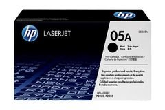 HP 05A LaserJet Toner Cartridge - Black color - CE505A
