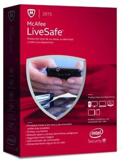 Mcafee antivirus - Livesafe 2015 - MLS Model