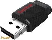 فلاش USB سانديسك 32 جيجابايت مزدوج