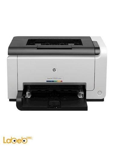 طابعة ليزر جت برو ملونة HP - تطبع 16 صفحة بالدقيقة - CP1025
