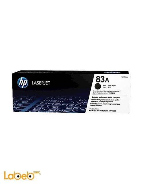 Black HP Laserjet Toner CF283A