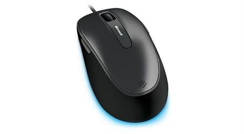 Microsoft Comfort Mouse 4500 model Black color 5 Buttons