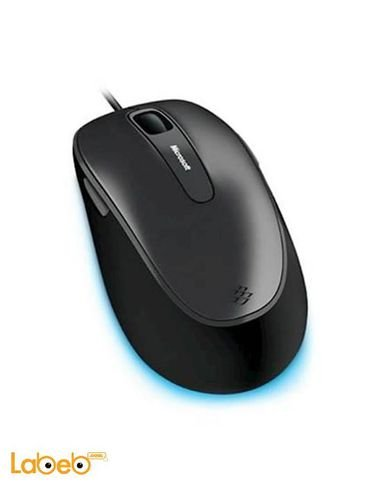 Microsoft Comfort Mouse 4500 Black color 5 Buttons
