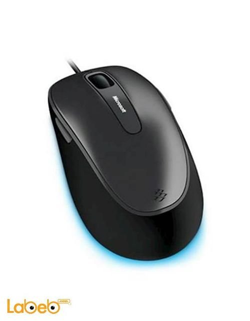 Microsoft Comfort Mouse 4500 Black color 5 Buttons