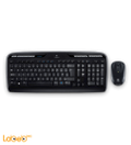 لوحة مفاتيح لوجيتك لاسلكي  MK330 - لون اسود - موديل 920-003983