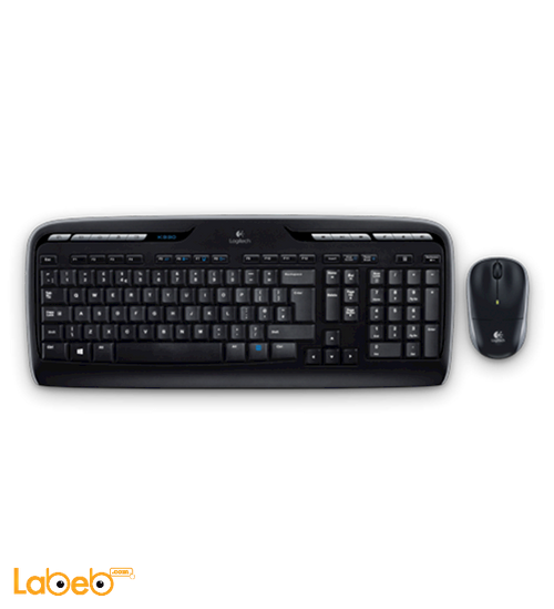 Logitech MK330 Wireless keyboard black color model MK330