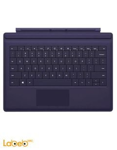 Microsoft Keyboard/Cover Case for Tablet - Purple - RF2-00003