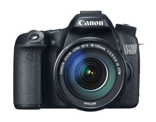 Canon EOS-70D Black