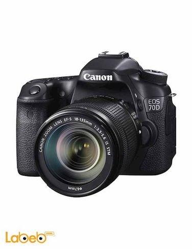 Canon EOS-70D DSLR Camera - 18-135mm - 20MP - 3Inch