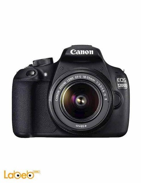 كاميرا EOS-1200D DSLR كانون 18 ميجا بكسل