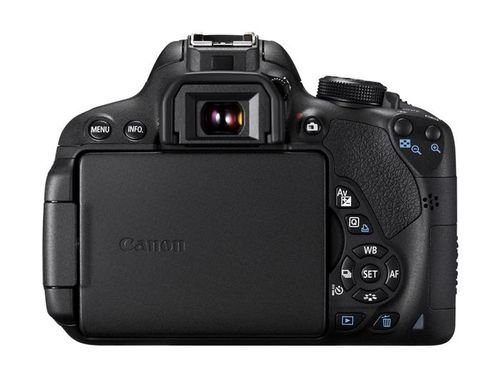 ازرار الكاميرا الرقمية EOS-700D كانون 18 ميجا بكسل