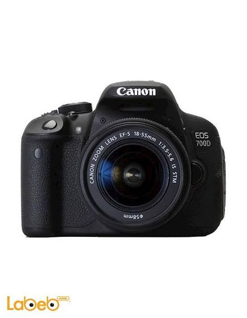 الكاميرا الرقمية EOS-700D كانون عدسة تقريب 18