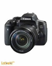 كاميرا كانون EOS 750D عدسة 18-135 ملم 24 ميجا بكسل