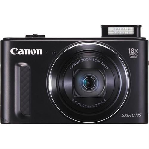 Canon PowerShot SX610 20MP Digital Camera Zoom x18 Black