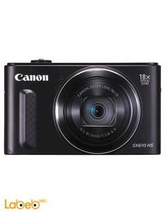 Canon PowerShot SX610 - 20MP Digital Camera - Zoom x18 - Black