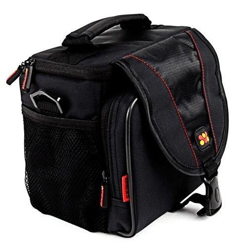 جانب حقيبة كاميرا برومايت لكاميرا DSLR لون أسود موديل xPose.L