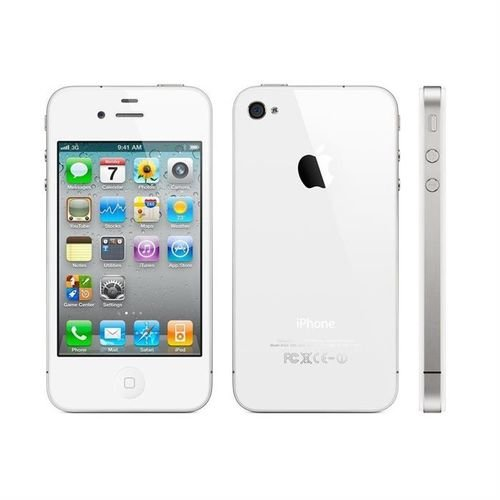 White Apple iPhone 5S smartphone