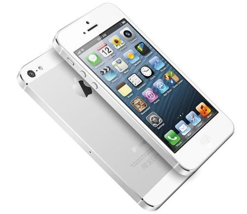 Apple iPhone 5S smartphone screen
