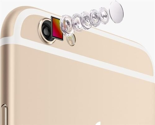 camera Gold Apple iPhone 6