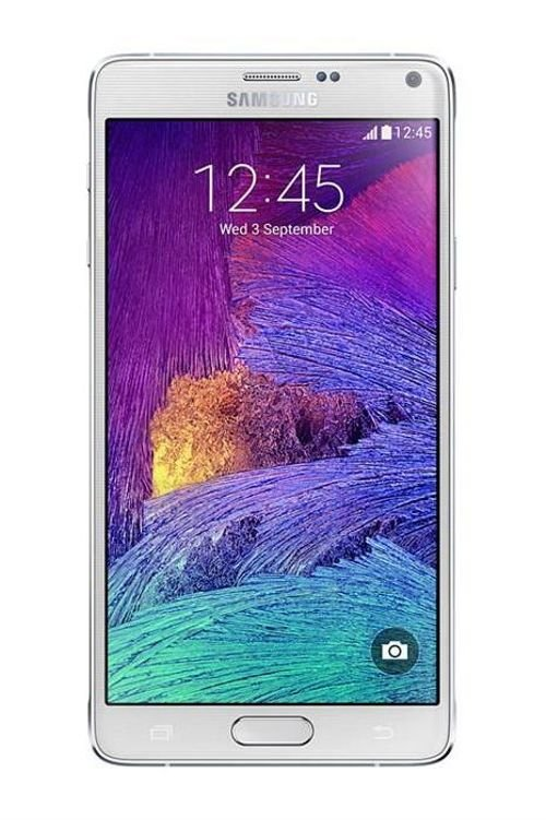 Samsung Galaxy Note 4 smartphone White