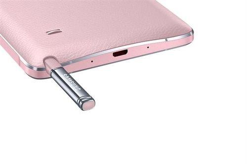 Samsung Galaxy Note 4 smartphone pink SM-N910C