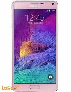 Samsung Galaxy Note 4 - 32GB - 16MP - 5.7 inch - Pink color
