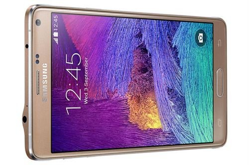 Samsung Galaxy Note 4 smartphone 32GB Gold