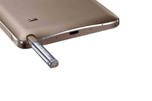 gold Samsung Galaxy Note 4 pen