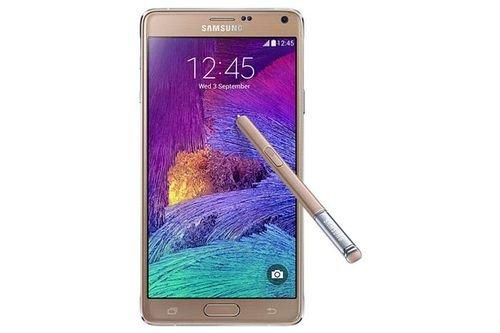 Samsung Galaxy Note 4 smartphone Gold SM N910C